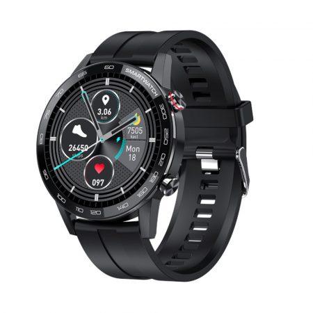 L16 PREMIUM Smart hodinky - čierne