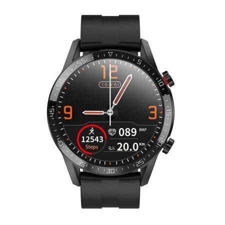 L13 LUX chytré hodinky čierné