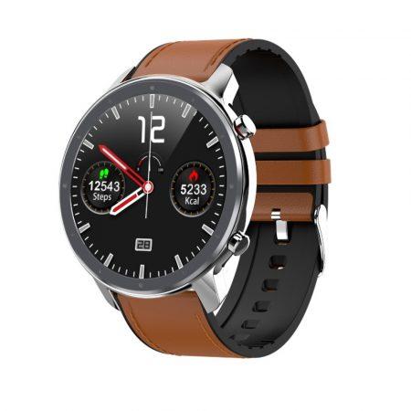 L11 SLIM chytré hodinky  - strieborné