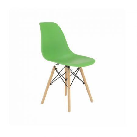 4x  Dizajnové moderné jedálenské stoličky do vašej kuchyne alebo  môžu byť klenotom obývacej izby-zelené