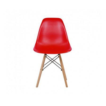 4x Dizajnové moderné jedálenské stoličky do vašej kuchyne alebo môžu byť klenotom obývacej izby-červená