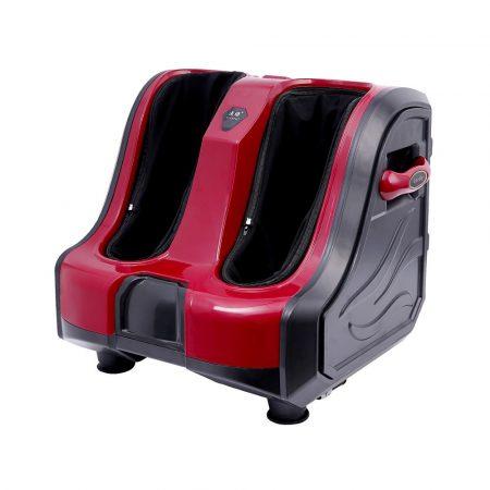 Masážny prístroj na nohy a lýtka, červený