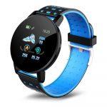 ID119 Plus inteligentný náramok v modrej farbe - šikovný pomocník v každodennom živote