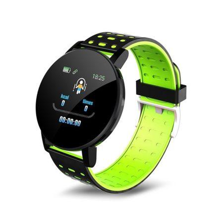 ID119 Plus o inteligentný náramok v zelenej farbe - šikovný pomocník v každodennom živote