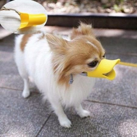 Náhubok pre psov s kačacím vzhľadom veľkosť S