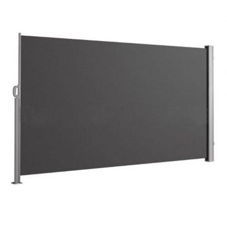 Prenosný tieňovací paraván - hnedý 180x280