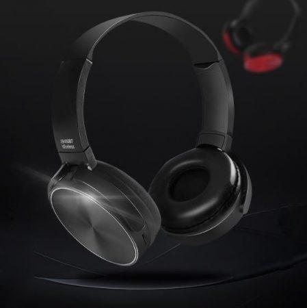 Bluetooth headset Crispy 450TB - čierny