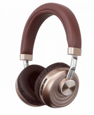 Bluetooth headset  VJ083 Em-MI  -  hnedý