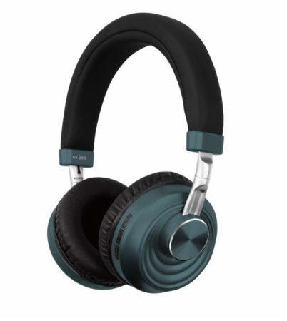 Bluetooth headset  VJ083 Em-MI  - tyrkysový
