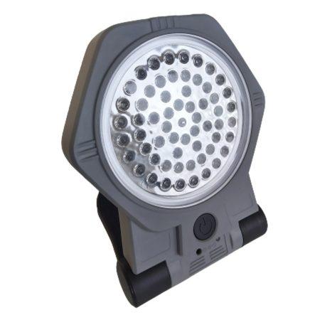 Reflektor s magnetickou základňou a závesným háčikom