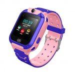 Inteligentné hodinky  TriangleTech Q12B ružové