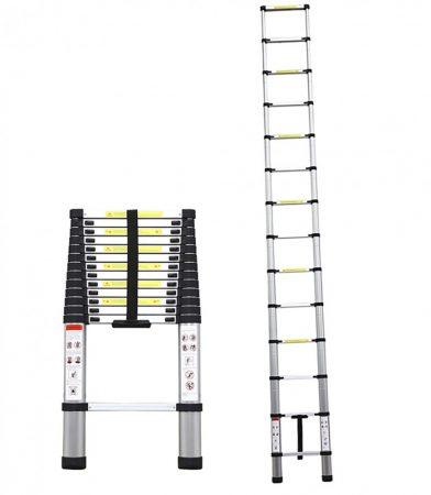 Welldone hliníkový teleskopický rebrík 4.1m