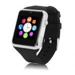 Inteligetné hodinky  Primus A1 - strieborno-čierne