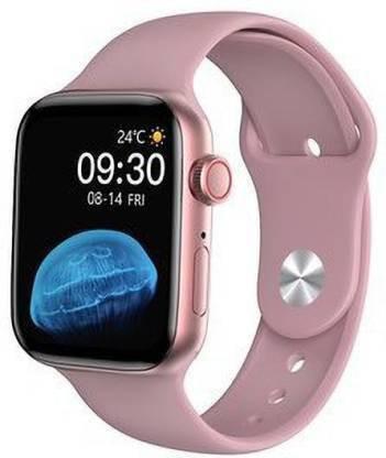 Conus HW16 Rose gold inteligentné hodinky s  ružovým remienkom