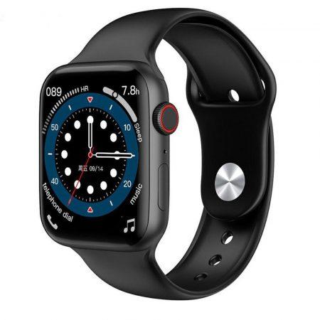 Inteligentné hodinky Yold W506 - čierno-strieborné