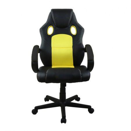 Gamer stolička basic-žltá