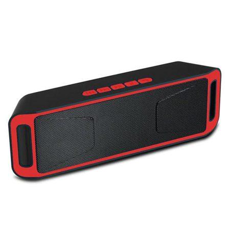 Bluetooth reproduktor  Sc208 - červený